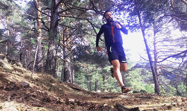 Bajadas en trail running